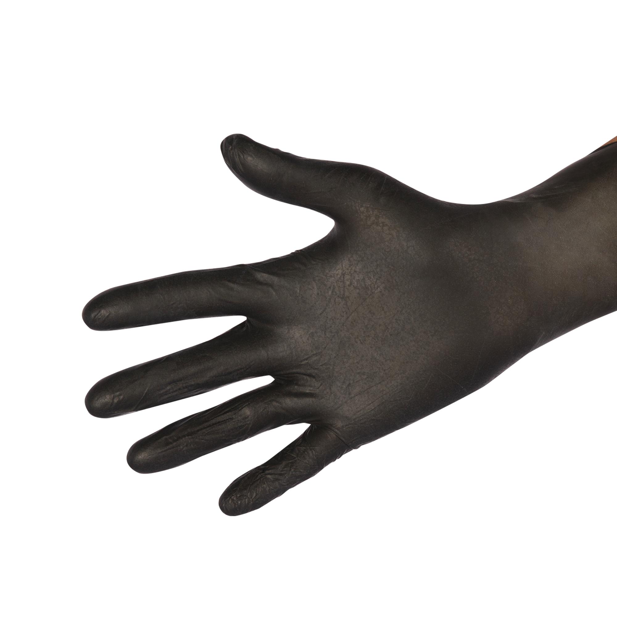 Latexhandschuh schwarz