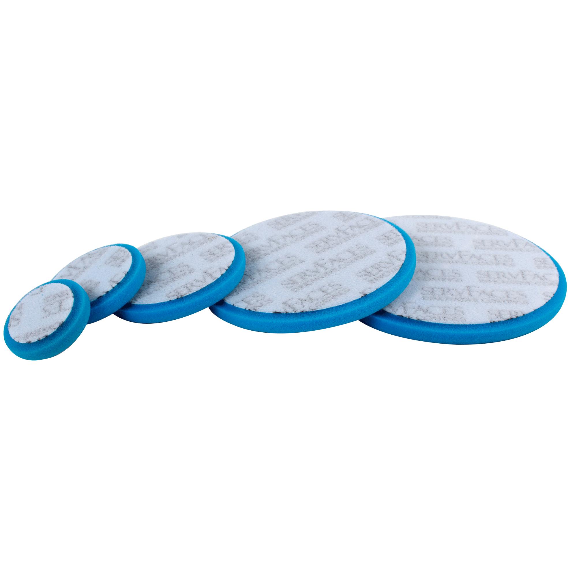 Polierschwamm RT V3 (blau-medium, offenzellig)